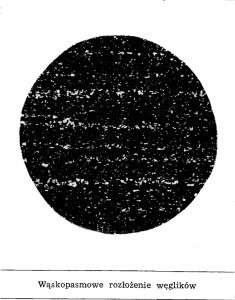 pasmowość węglików ledeburytyczne wzorzec nr 4