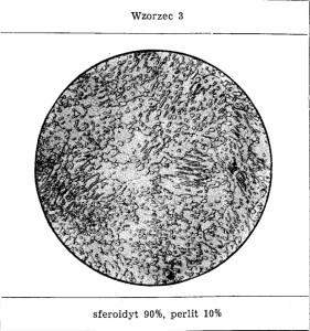 udzial perlitu wzorzec nr 3